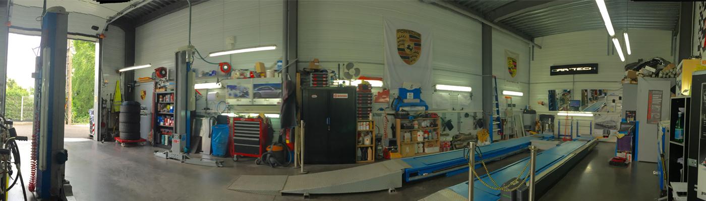 garage Car Tech, spécialiste de la liaison au sol et de l'équipement automobile.